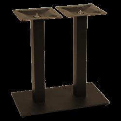 Flat rechthoek 70*40 laag dubbel kolom
