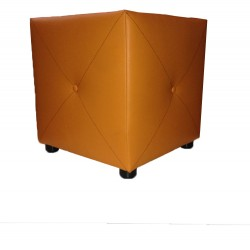 Poef Orange 40x40