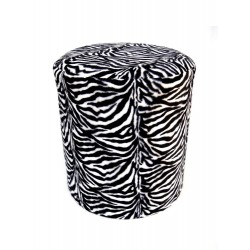 Poef Zebra